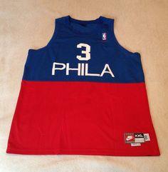 2f319873bfa8 Nike Vintage Allen Iverson Philadelphia 76ers Swingman Jersey NWOT Size XXL  54  Nike  Philadelphia76ers