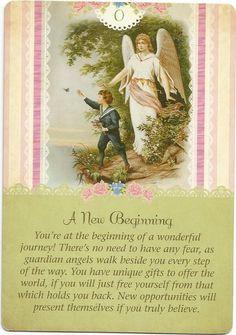 A New Beginning, Guardian Angel Tarot, Doreen Virtue