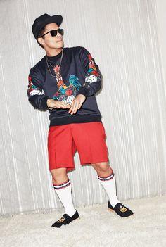 American pop star Bruno Mars takes the cover story of WSJ.Magazine's March 2017 Men's Fashion edition captured by fashion photographer Maciek Kobielski.