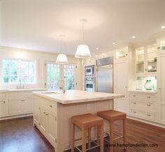 Sag Harbor Kitchen - Hampton Design - Complete kitchen bath and built-in solutions - Design - Cabinetry - Countertops - Appliances