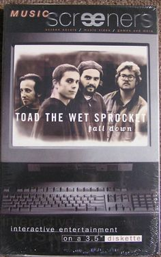 TOAD THE WET SPROCKET 1995 SCREENERS 3.5 DISKETTE INTERACTIVE [61323] - $14.99 : Vinyl Frontier Music, - Rare Records, CDs, posters, memorabilia, and more:, Vinyl Frontier Music, - Rare Records, CDs, posters, memorabilia, and more: