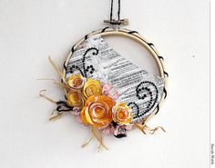 embroidery hoop decoration
