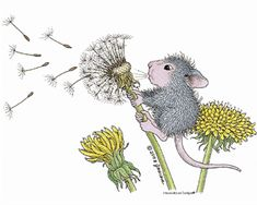"""""""Just Dandy"""" from House-Mouse Designs®. This image was recently purchased on a rubber stamp. Click on the image to see it on a bunch of other really """"Mice"""" products."""
