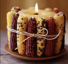 Love me some candles! #DIY #november #fall #thanksgiving #decor #organize #clutterless
