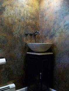 Metal Effects Wall Finish | Modern Masters: Best of 2014