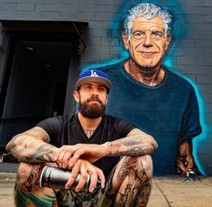 Street art - Anthony Bourdain