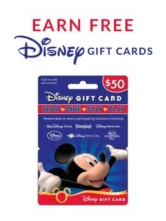 Easy Way to Save Disney Gift Cards for your Vacation- All things ...
