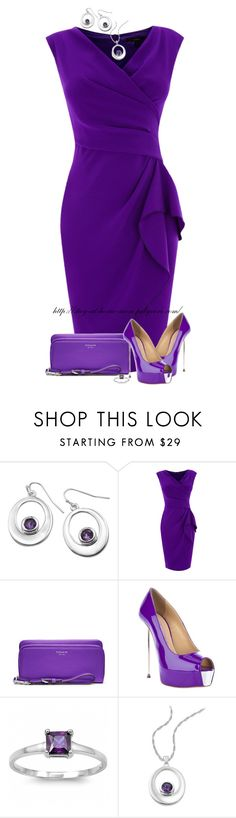 """Purple & Silver"" by amber-1991 ❤ liked on Polyvore featuring Giani, Coast, Coach, Gianmarco Lorenzi and Fantasy Jewelry Box"