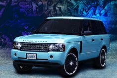 Range Rover- I want a blue one, NOW!