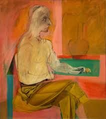 Wilhelm de Kooning Seated Man c. 1939 Oil on canvas 38 x 34 x 87 cm) Hirshhorn Museum and Sculpture Garden, Smithsonian Institution, Washington, D. Gift of the artist through the Joseph H. Action Painting, Figure Painting, Figure Drawing, Painting & Drawing, Willem De Kooning, Mondrian, De Kooning Paintings, Hirshhorn Museum, Expressionist Artists