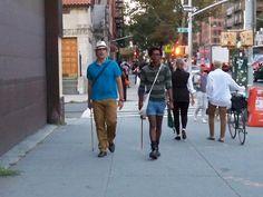 "David Prusko (US) & Ismael Ogando (Dominican Republic), ""Recorded Paths II"", Manhattan, US, 2012."