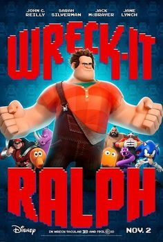 Test your videogame geekiness by seeing how many characters you can name on this ace Wreck-It Ralph poster.