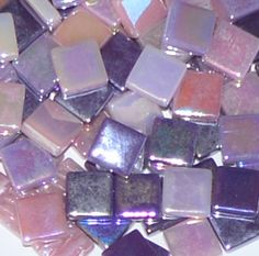 Deluxe System 96 Assorted Fusible Glass Art Mosaic Crafts Fusing Supplies NEW