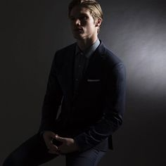Shadows at work.  The 01 Suit and 03 Studio Shirt. Classic pieces, modernized and custom.