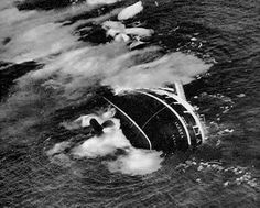 Sinking of Andrea Doria This ship sank the day before we left New York for France.