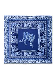 Versace - Leopard Animalier Silk Foulard