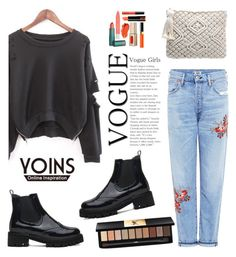 """""""Yoins 8"""" by partoffashion ❤ liked on Polyvore featuring Citizens of Humanity, Yves Saint Laurent and yoins"""