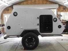 Skerfans New Shuttle Pod Trailer Build - Page 2 - Toyota FJ Cruiser Forum Bug Out Trailer, Teardrop Trailer Plans, Trailer Build, Camper Caravan, Truck Camper, Camper Trailers, Offroad Camper, Travel Trailers, Small Cargo Trailers