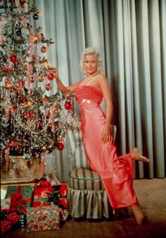 """Jayne Mansfield Wishes All of Us a Very, Very, Merry, Merry Christmas!  Thanks Jayne!  Loved you opposite Tarzan in """"Cheetah's First Christmas""""!"""