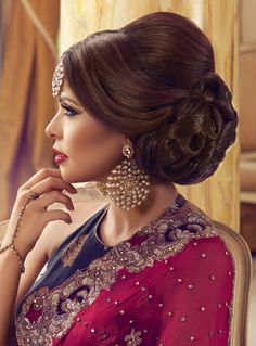 101 Best Indian Hairstyle Images In 2019 Hairstyle Ideas Bridal