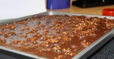 Texas Sheet Cake Recipe Without Sour Cream.Texas Sheet Cake Recipe For Chocolate Cake With Pecans. Cinnamon Texas Sheet Cake Five Little Chefs. Home and Family Bbq Desserts, Just Desserts, Delicious Desserts, Dessert Recipes, Yummy Food, Frosting Recipes, Health Desserts, Brunch Recipes, Food Cakes