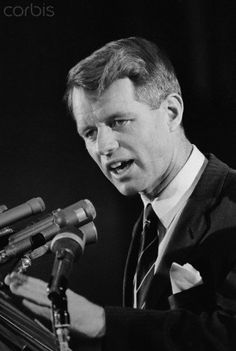 Senator Robert F. Kennedy, (D-N.Y.), is shown as he met with reporters at the Capitol. At a conference, Kennedy said the U.S. should indicate in advance that it would accept participation by the Viet Cong at Viet Nam Peace Conference and in a postwar government in South Viet Nam.  Date Photographed:19 February 1966