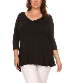 Night V-Neck Tunic - Plus