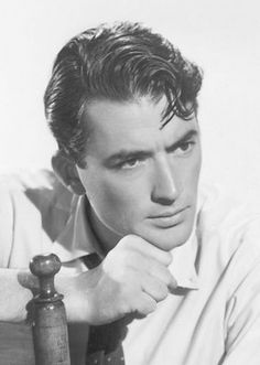 Gregory Peck Old Hollywood Actors Viejo Hollywood, Hollywood Men, Hollywood Icons, Golden Age Of Hollywood, Vintage Hollywood, Hollywood Stars, Classic Hollywood, Gregory Peck, Classic Movie Stars