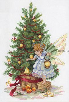 """Вышивка """"Новогодняя фея"""""""