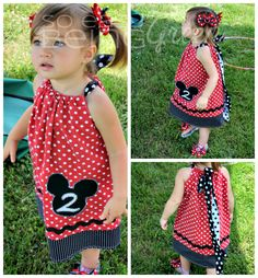 Mickey Mouse Birthday Dress