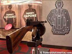 Bachelorrette Las Vegas mob museum | Found on roadsideamerica.com