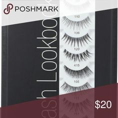 Ardell lash look book Ardell Lash Look Book features eight top-selling Ardell styles and Duo adhesive. Natural, chic or glamorous!  Lash styles include:  Glamourl 105 Glamour 106 Natural 109 Natural 110 Glamour 113 Glamour 117 Natural 120 Curvy 415 Duo adhesive (0.25 oz) ardell lashes Makeup False Eyelashes