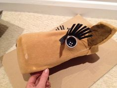 livingdoing: how to make a nativity camel costume