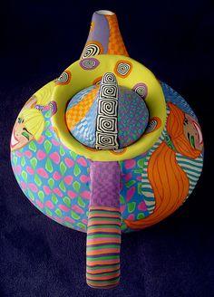 retro genie teapot4 by Wanda's Designs, via Flickr
