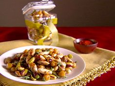 Toasted Cecchi, Almonds, and Pistachios recipe from Giada De Laurentiis via Food Network