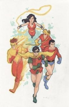 Teen Titans by Phil Noto