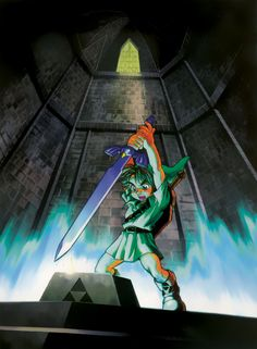 The Legend of Zelda: Ocarina of Time, Young Link
