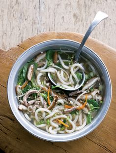 Udon Noodle Soup with Pork