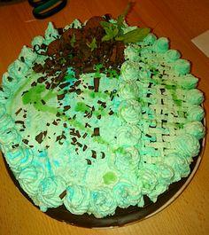 Chocolate- menta cake