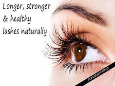 Get Longer Stronger Lashes In Days Naturally !! #Beauty #Trusper #Tip