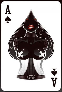 Ace of Spades ~ by Leon Ryan