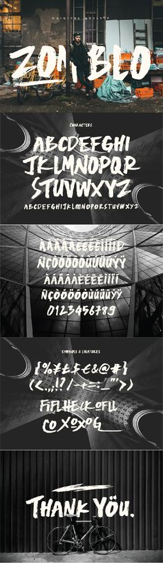 Zomblo Typeface. Download here: https://graphicriver.net/item/zomblo/16985704?ref=ksioks