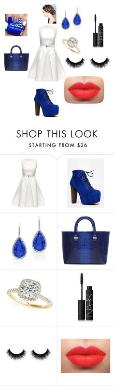 """""""Fancy Dinner/Date"""" by marmarsoftball ❤ liked on Polyvore featuring beauty, Lattori, Speed Limit 98, Victoria Beckham, Allurez and NARS Cosmetics"""