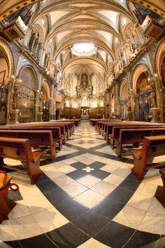 Abbey of Montserrat, Catalonia, Spain!