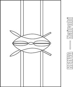Do You Know The Colors Of Ethiopia Country Flag This Coloring Page Will Give Answers