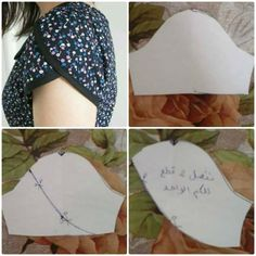 I think I want to make all my sleeves petal / tulip sleeve Sewing Hacks, Sewing Tutorials, Sewing Crafts, Sewing Projects, Sewing Toys, Techniques Couture, Sewing Techniques, Dress Sewing Patterns, Clothing Patterns