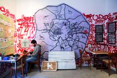 L'artista Lucamaleonte partecipa alla mostra Urban Legends al Macro Testaccio di Roma