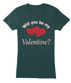 Cute  Valentines Day   Women's Tshirt Forest Women's T-Shirt Front