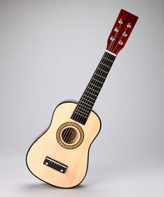 Take a look at this Natural 23'' Toy Acoustic Guitar by New Dimensions on #zulily today!