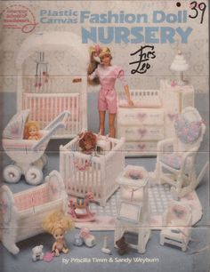 Free Copy of Booklet - Plastic Canvas Fashion Doll Nursery